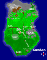 Map of the Island of Kordan