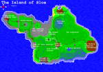 Map of the Island of Sloe