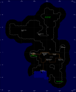 Trade Route Map of the Island of Archais